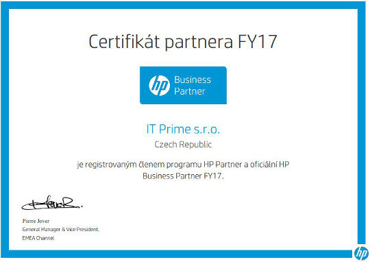 HP Business Partner FY17